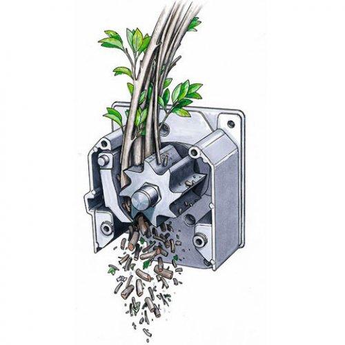 Садовый измельчитель для травы и веток своими руками чертежи