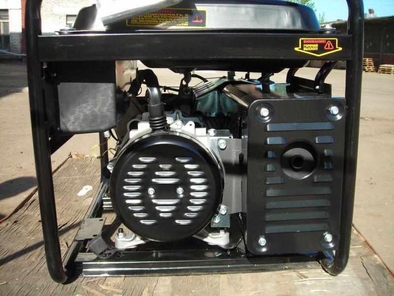 Бензиновый генератор huter dy5000l huter