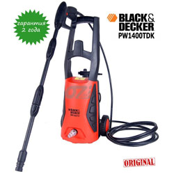 Минимойка Black&Decker PW 1400 TDK