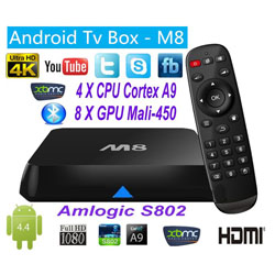 Android TV Box SerMax M8 Amlogic S802