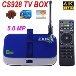 Android TV Box SerMax CS928 (CS918II) + 5 MPixel Camera + двухдиапазонная антенна