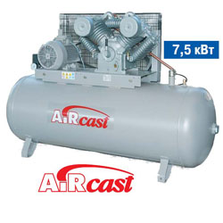 Компрессор Aircast СБ4/Ф-500.LT100/16 (РМ-3131.00, 380В) LOW POWER 7.5кВт