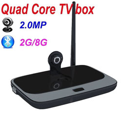 Android TV Box SerMax CS918C (EKB316) + 2 MPixel Camera