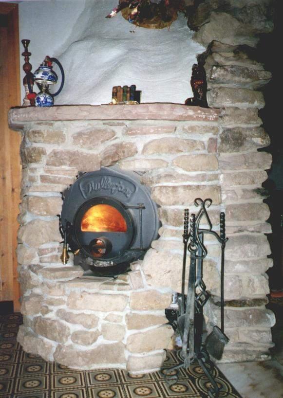 Варианты оформления (фотографии) - Булерьян, Bullerjan, Канадская печь, газогенераторная печь-калорифер, обогреватель воздуха