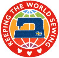 Логитип швейной компании Husqvarna
