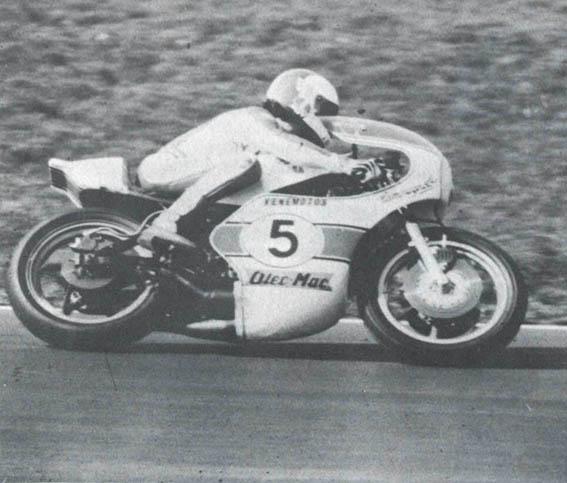 Мотоцикл компании OLeo-Mac в 1979 году